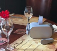 virtual reality diner Medemblik